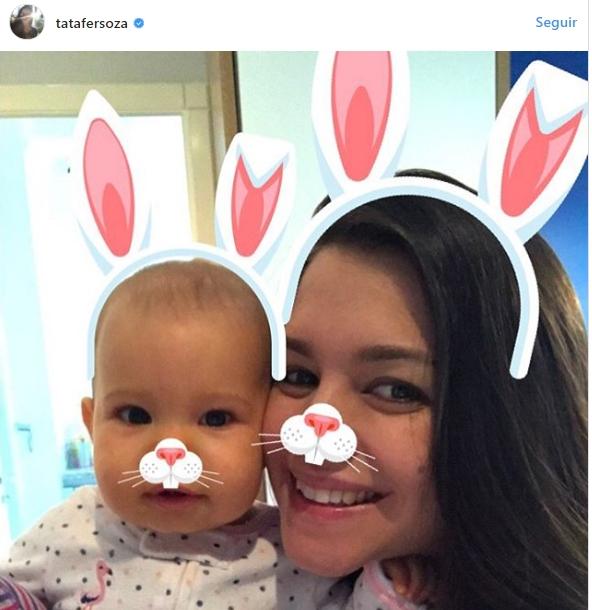 famosos celebram páscoa com filhos