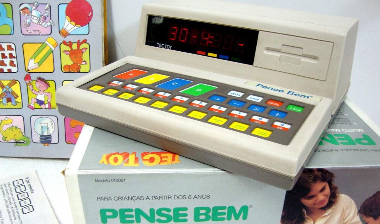 Pense Bem é relançado, veja utilidades do brinquedo febre nos anos 80.